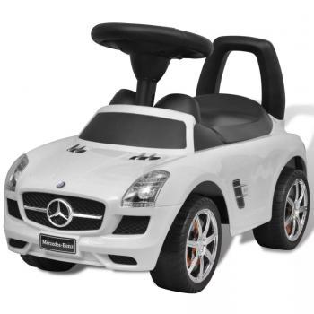 HuberXXL Mercedes Benz Kinderauto Fußantrieb Weiß