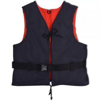 HuberXXL Schwimmweste 50 N 70-90 kg Marineblau