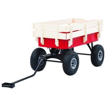 HuberXXL Handwagen 150 kg Rot