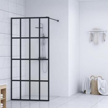 HuberXXL Duschwand für Begehbare Dusche Hartglas 118×190 cm