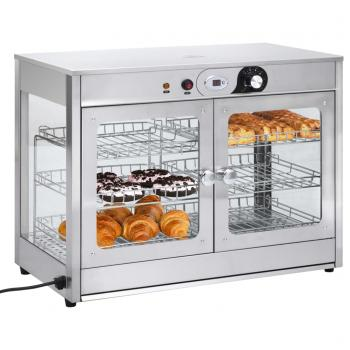 HuberXXL Elektrischer Gastronorm Speisenwärmer 1200 W Edelstahl