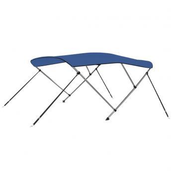 HuberXXL 3-Bow Bimini Top Blau 183 x 180 x 140 cm