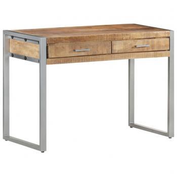Schreibtisch 108x50x75 cm Raues Mangoholz